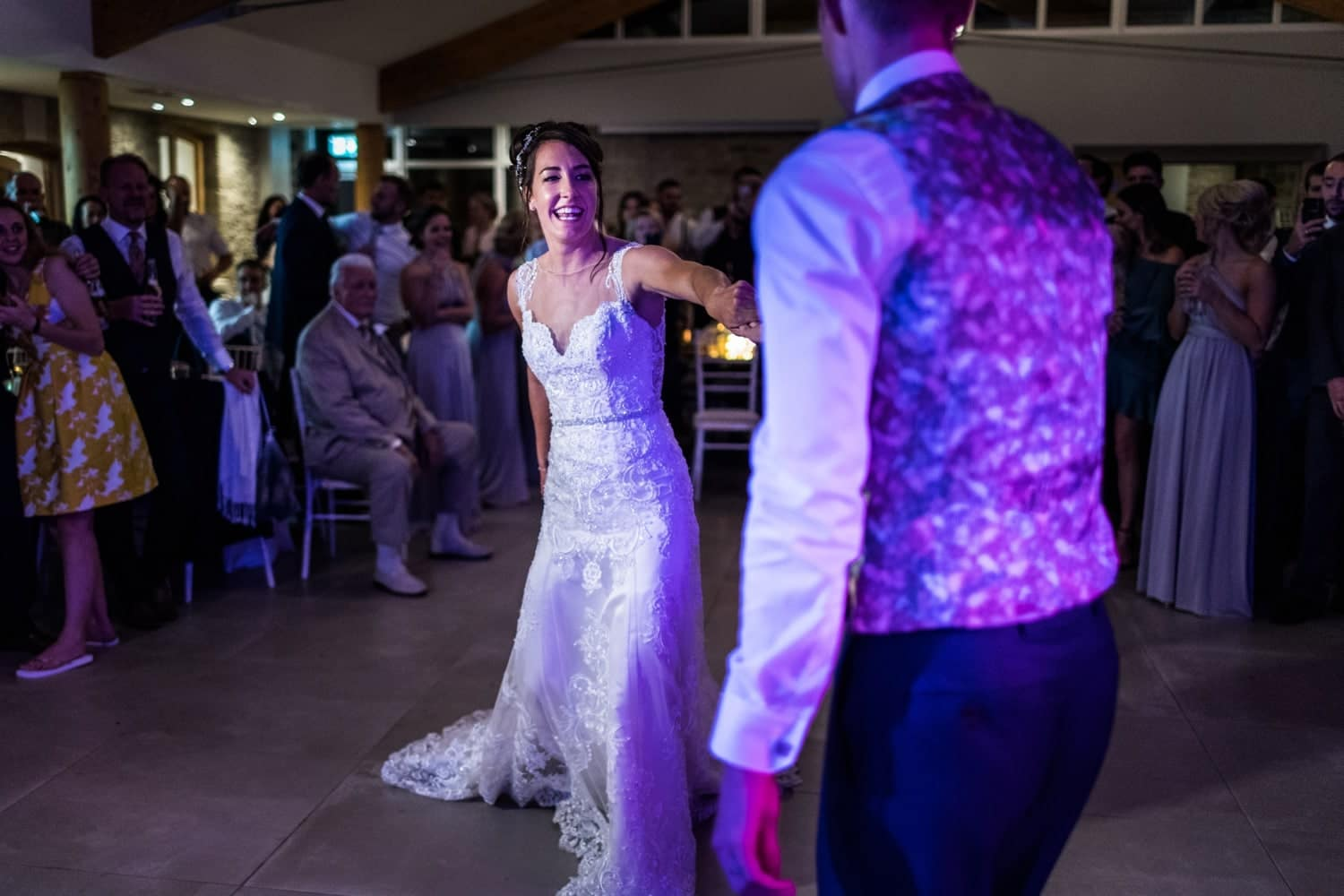 First dance at St Tewdrics House in South Wales