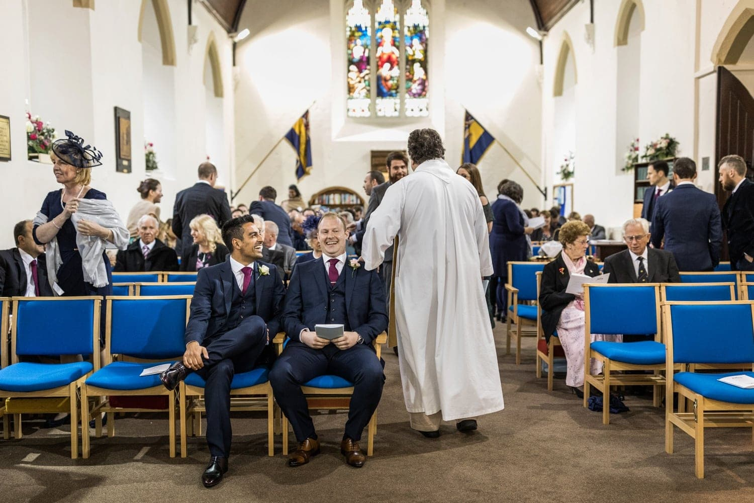 Marriage ceremony at St Anne's Church, Tonna