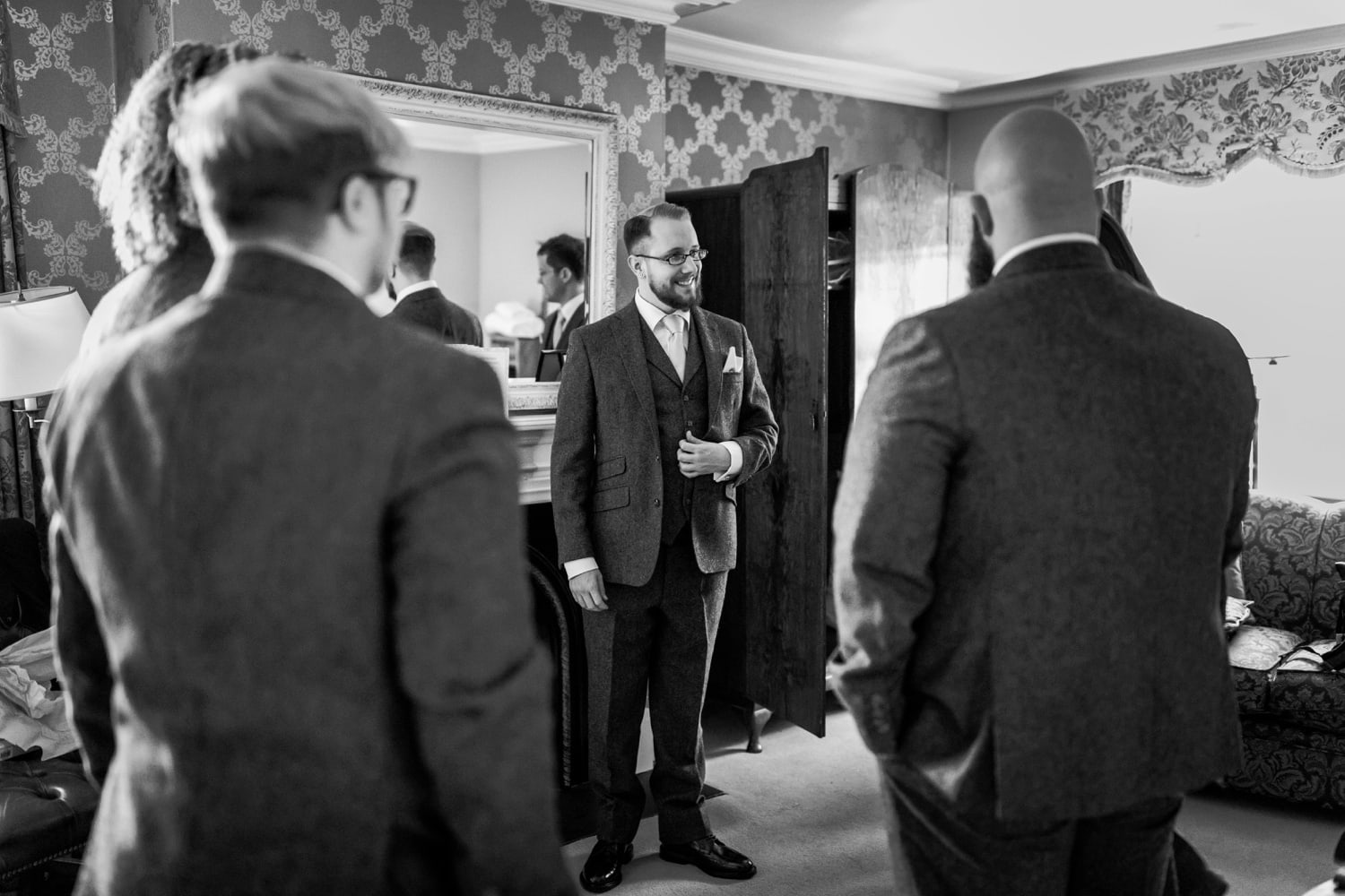 Groom at Peterstone Court