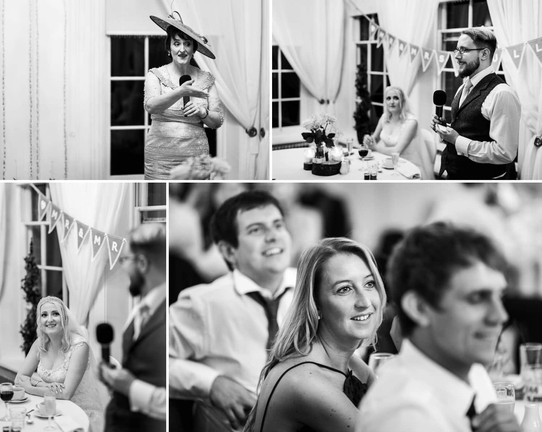 wedding reception at Peterstone Court