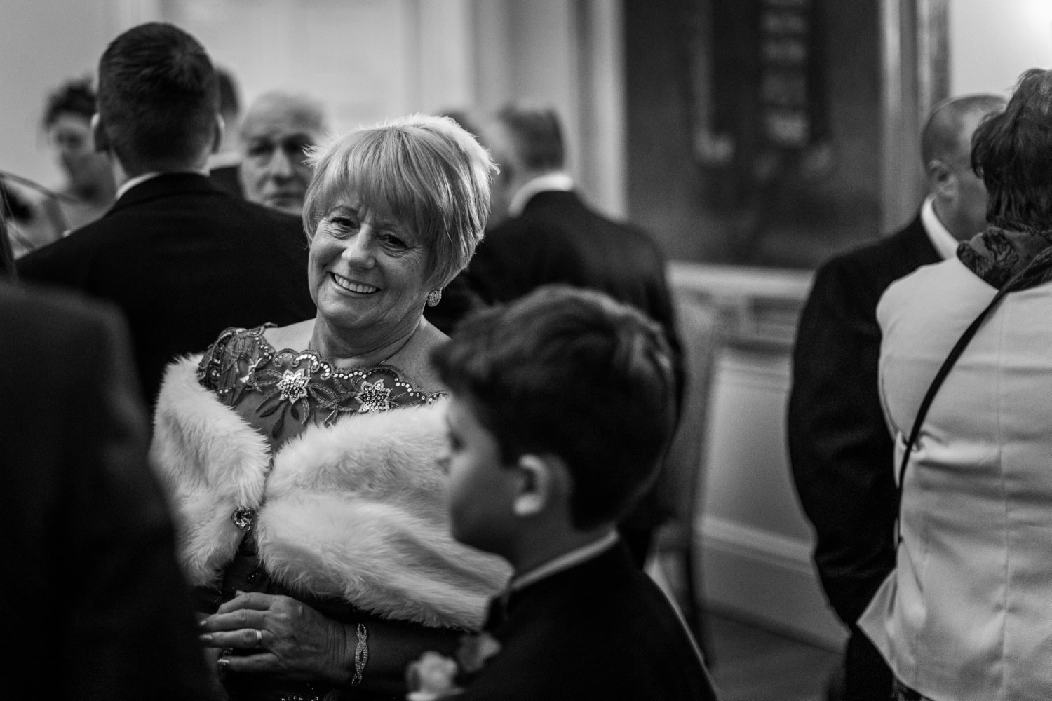 Christmas wedding at Cardiff Castle