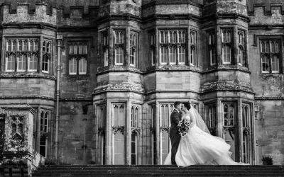 Winter Wedding at Margam Orangery – Nia & Andrew