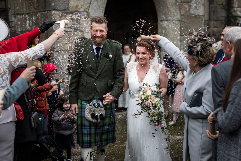 Coneffit Devon church wedding