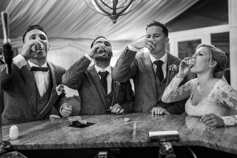 South Wales winter wedding at Oldwalls