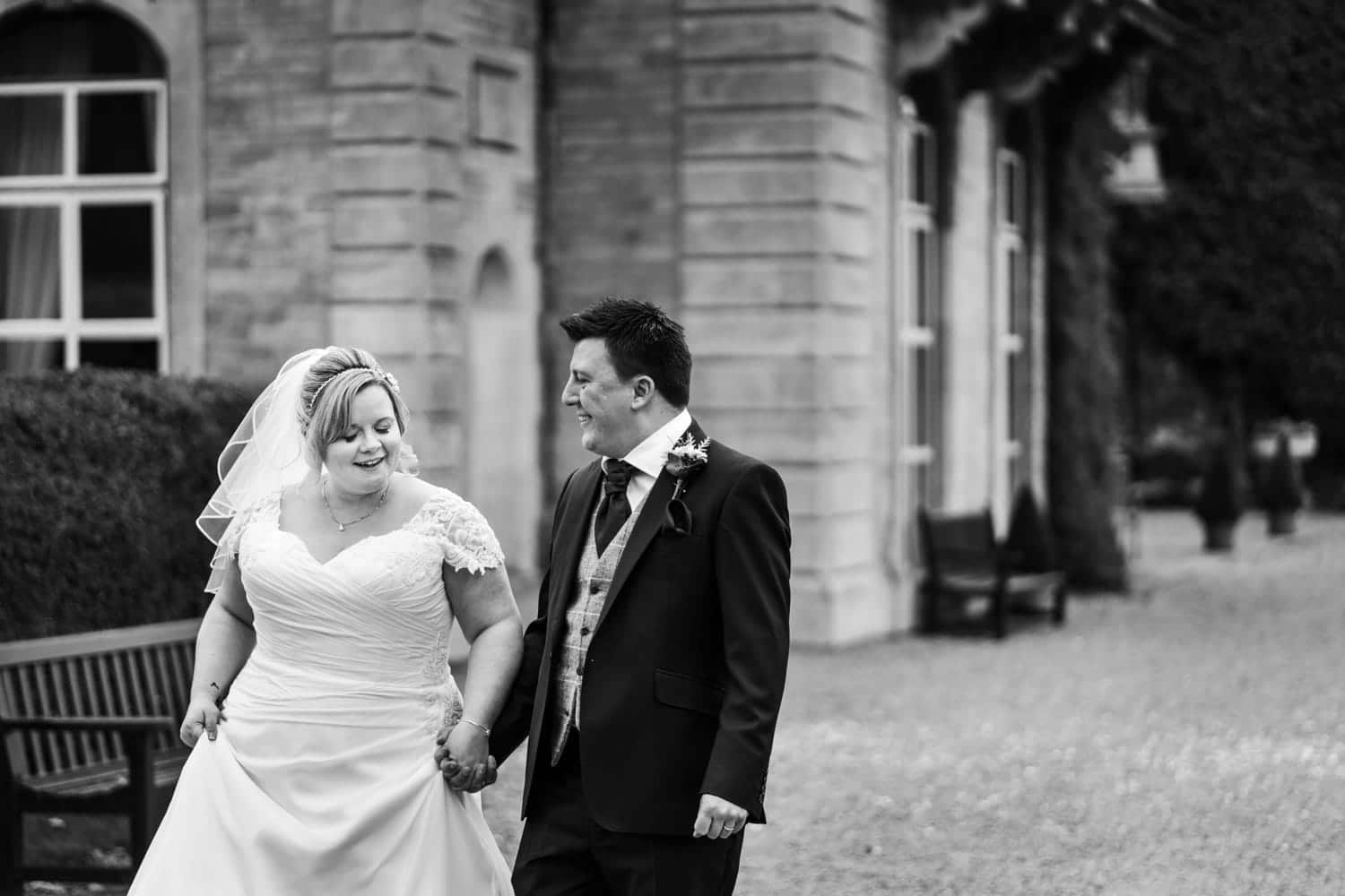 Bride and groom portraits at Eastwood Park