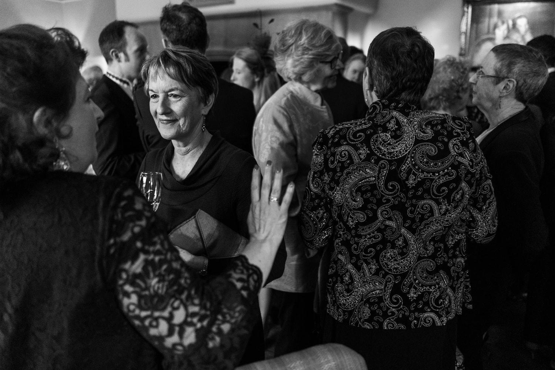 Wedding reception at Langoed Hall