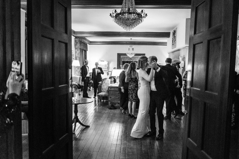 wedding at Llangoed Hall