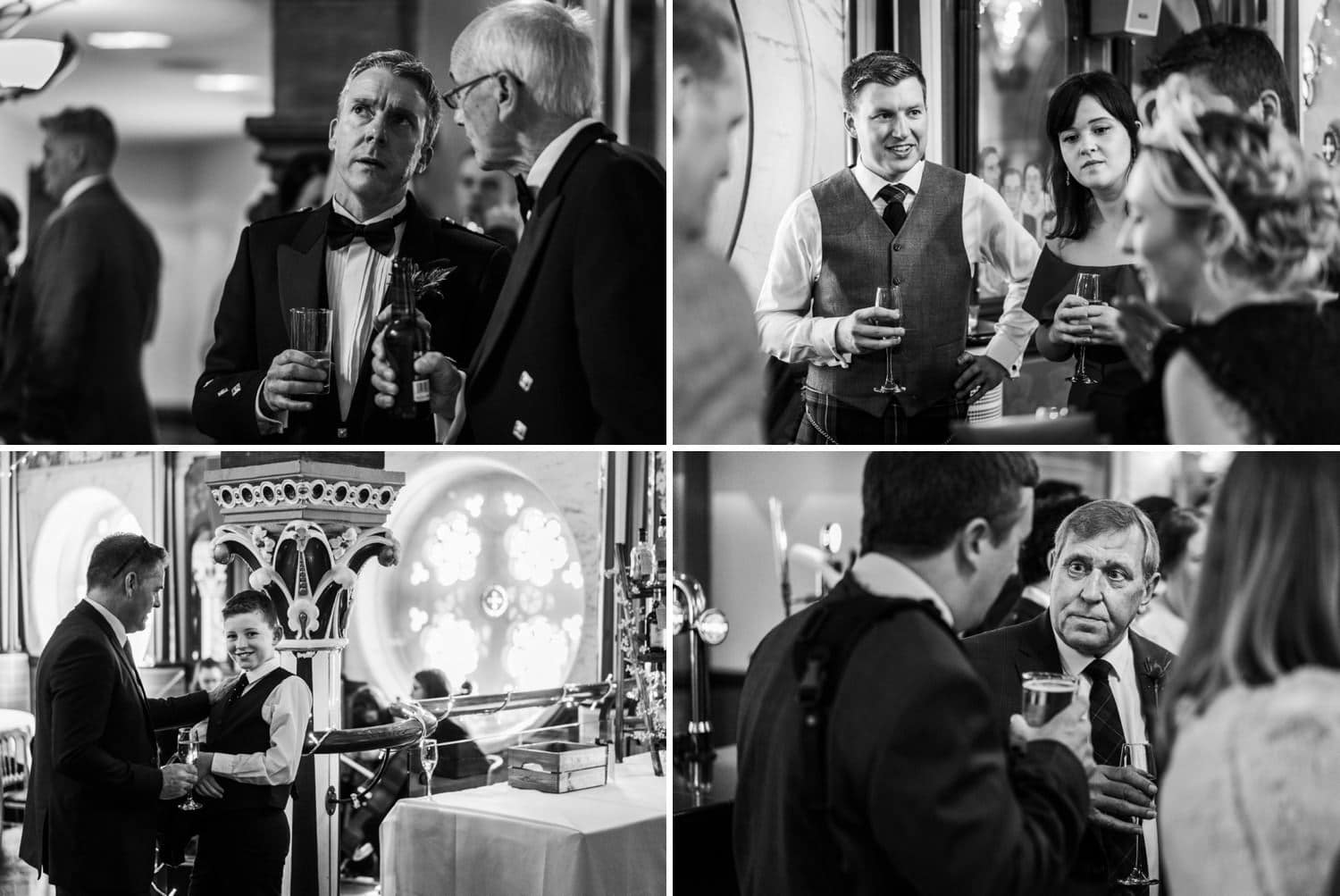 Drinks reception at the Oran Mor, Glasgow