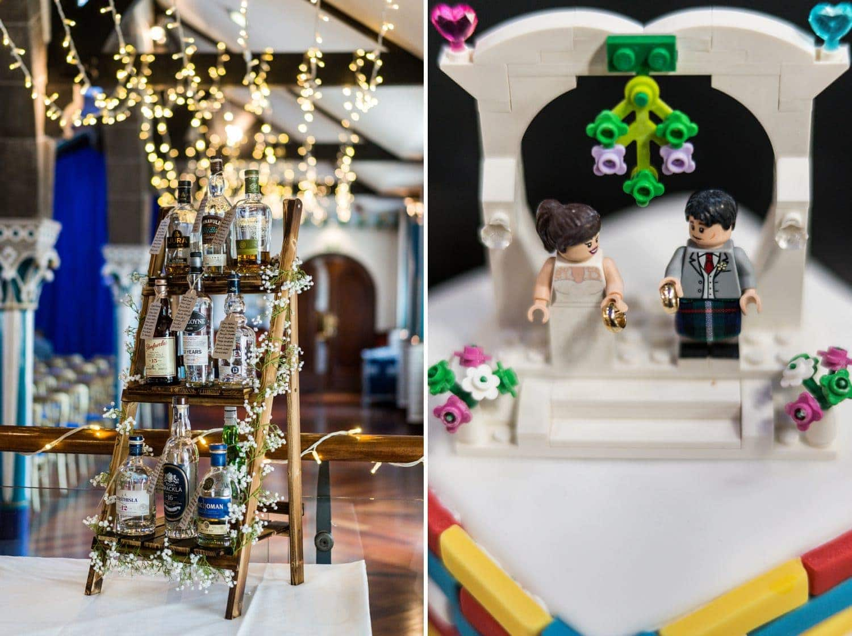 Wedding reception at the Oran Mor, Glasgow