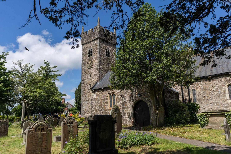 St Isaan's Church in Llanishen, Cardiff