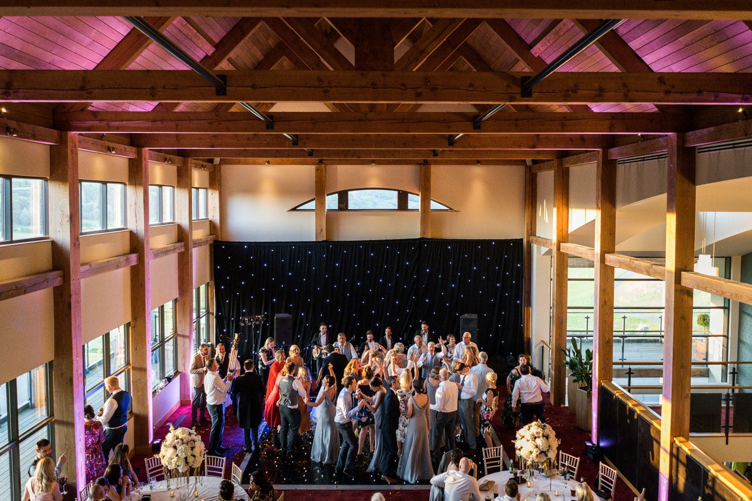 Dancing at the 2010 Clubhouse, Celtic Manor