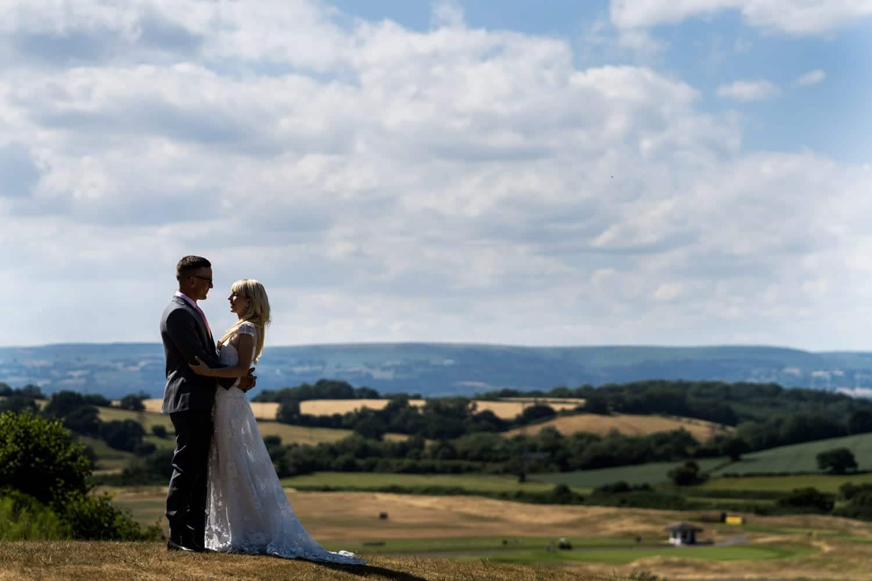 Elopement wedding at Celtic Manor Resort