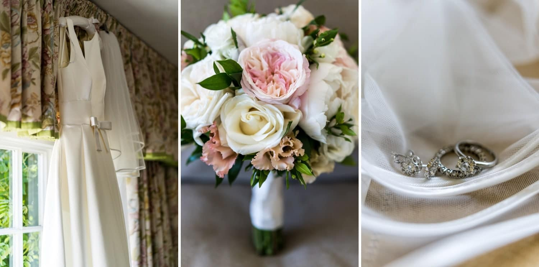 Bridal bouquet at Glanusk Park Estate
