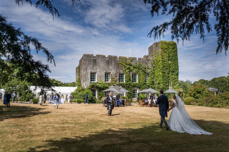 Fonmon Castle wedding