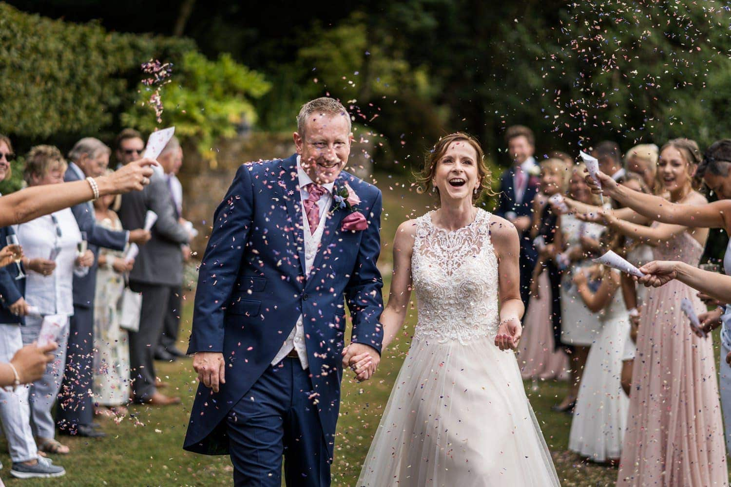 South Wales wedding at Caer Llan