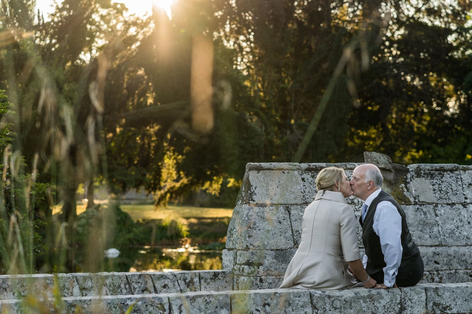 bride and groom portraits at a Brinsop Court