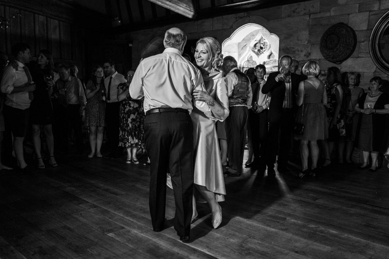 First dance at a Brinsop Court wedding