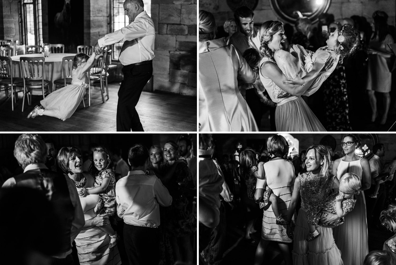 Dancing at a Brinsop Court wedding