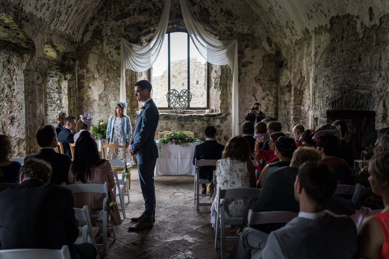 Manorbier Castle ceremony room