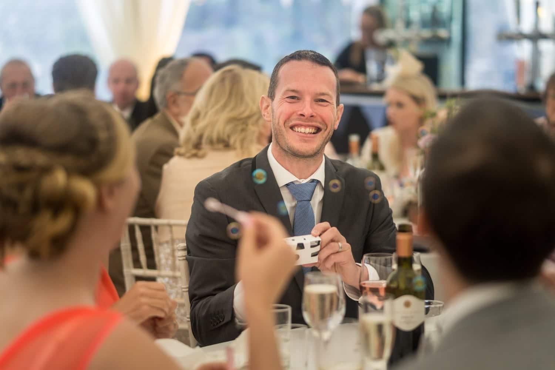 Wedding reception at Manorbier Castle