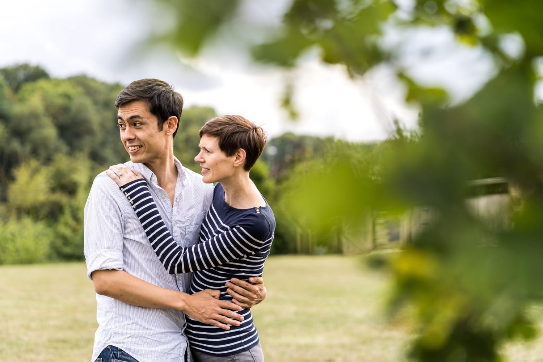 Engagement shoot at Soho Farmhouse