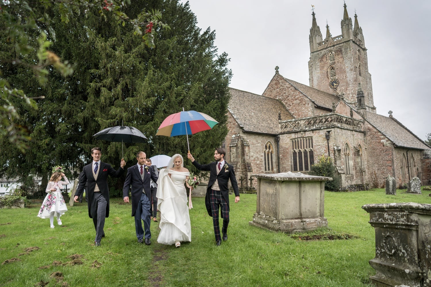 Monmouthshire wedding