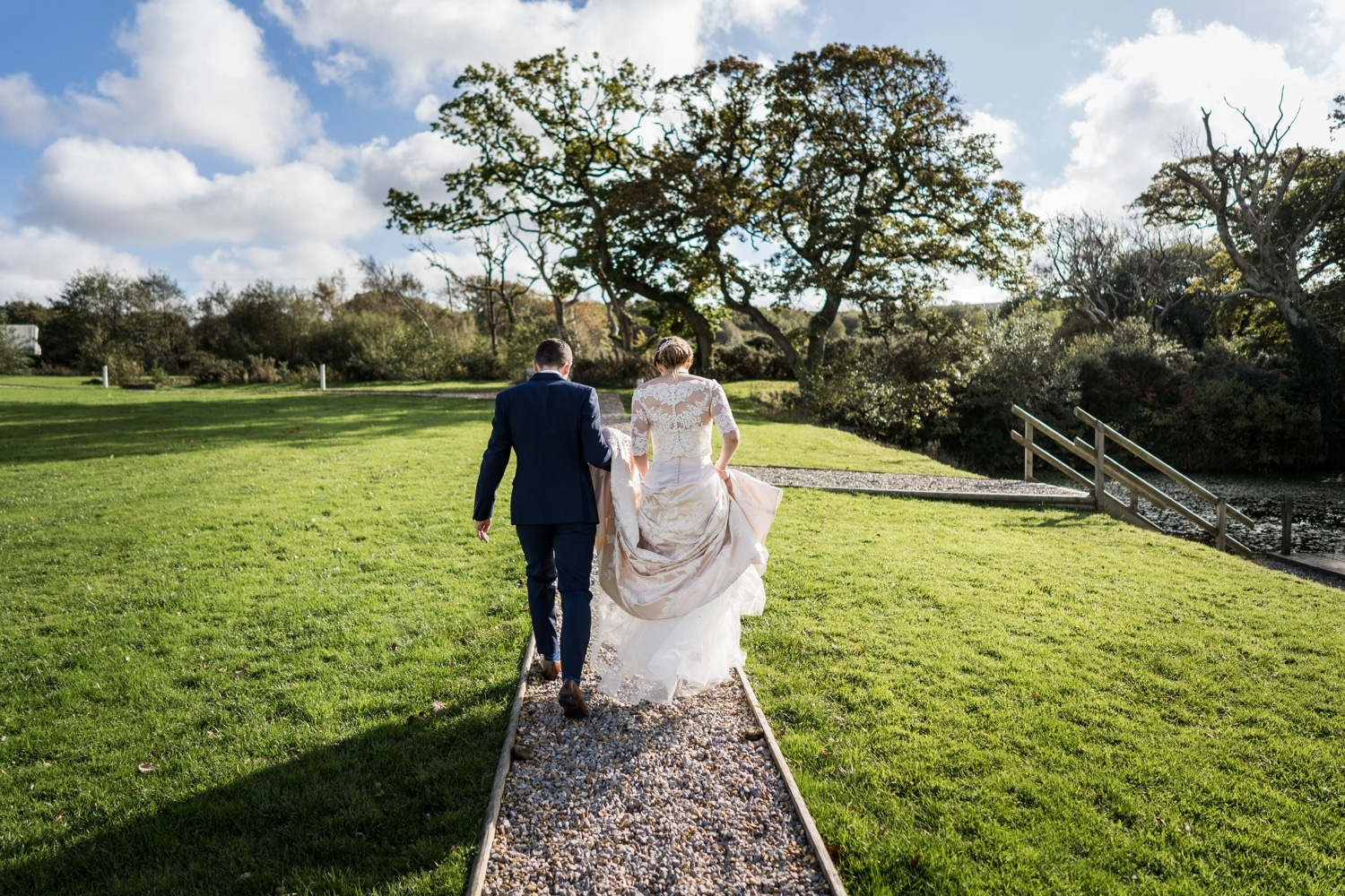 Wedding photography at Oldwalls, South Wales