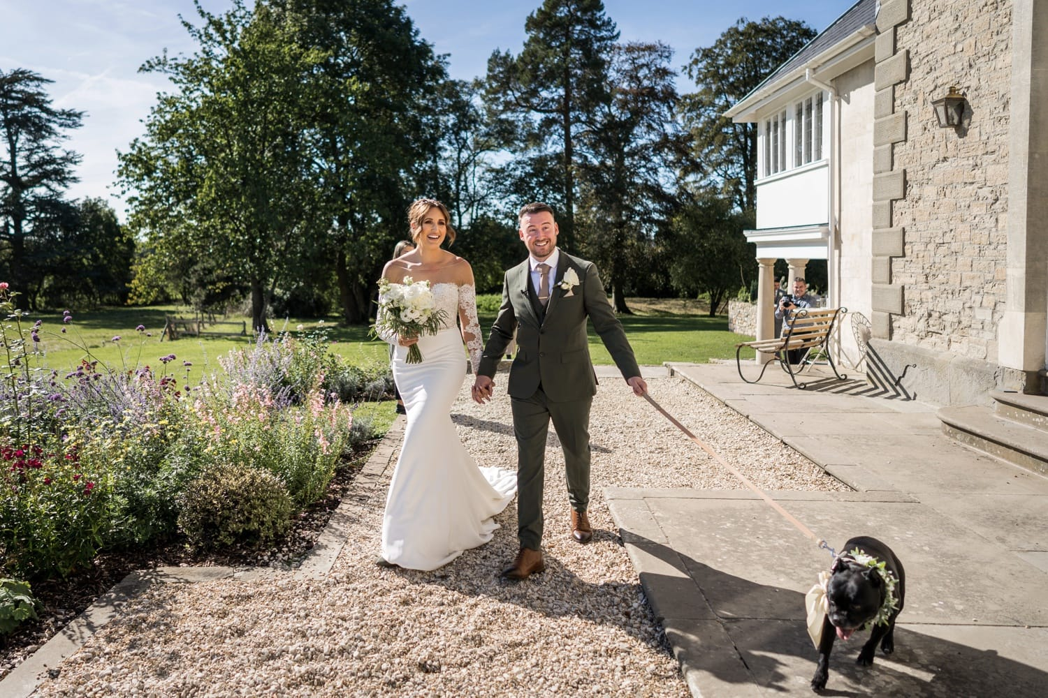 Wedding at St Tewdrics House, Monmouthshire, South Wales