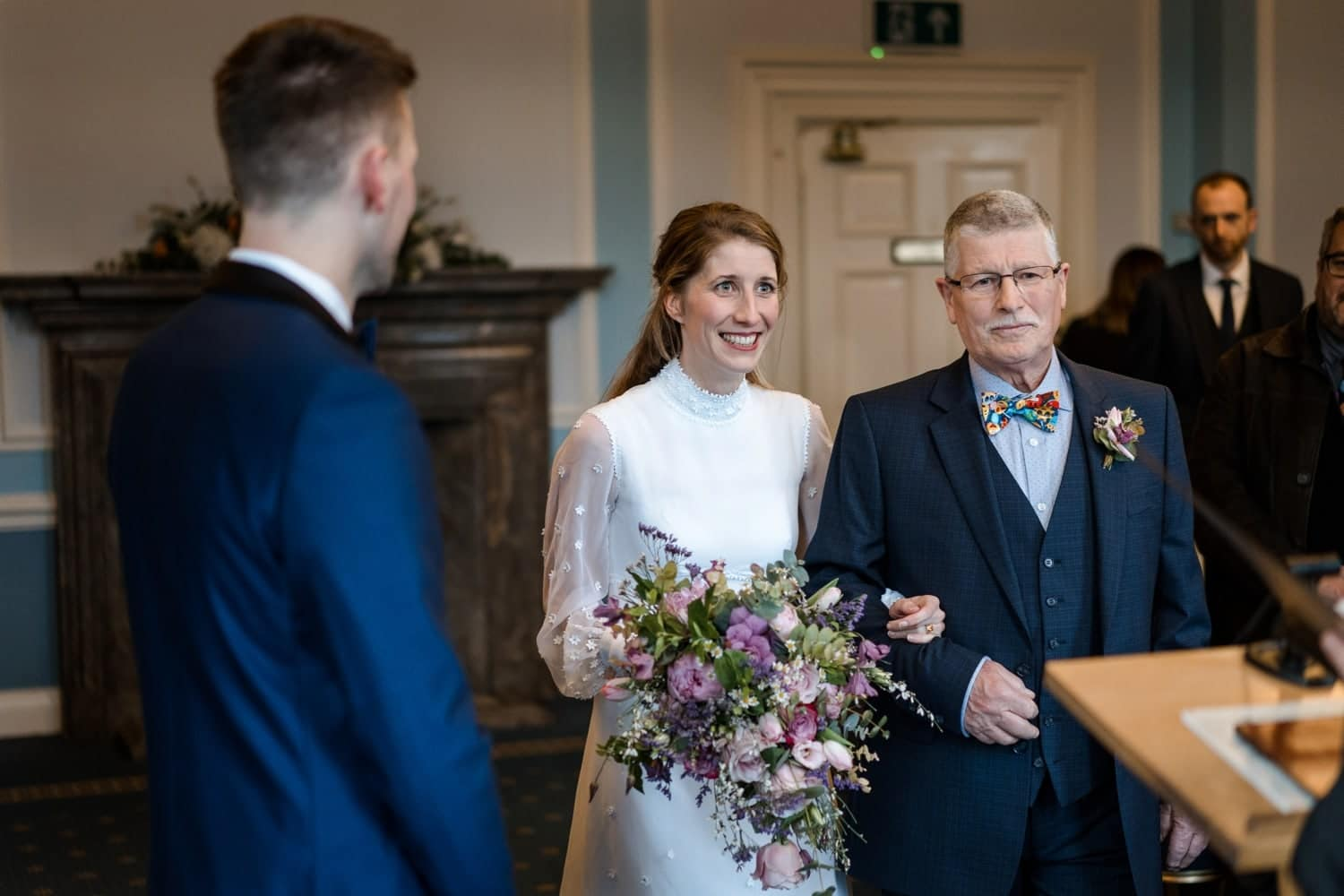 Cardiff City Hall marriage ceremony