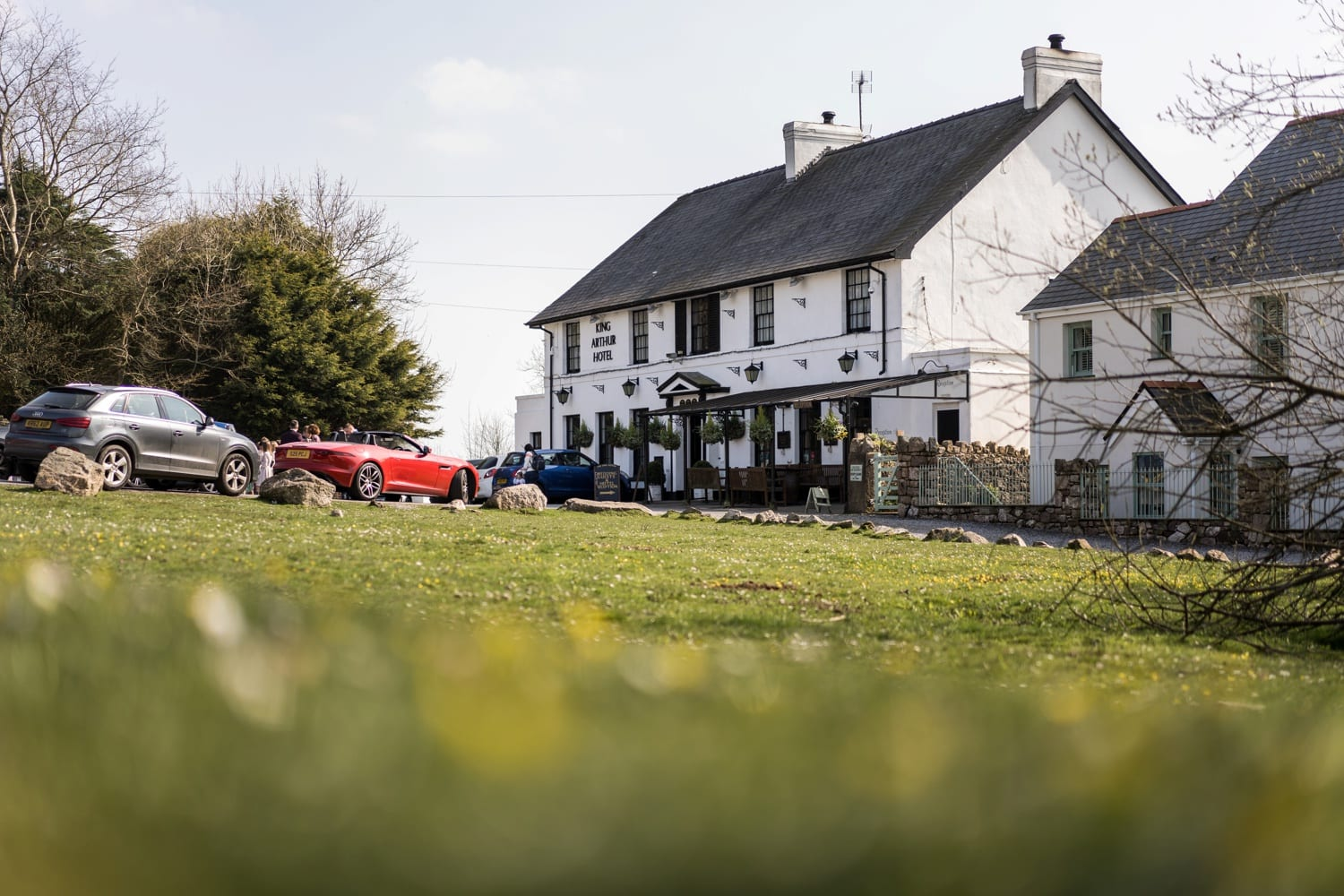 King Arthur Hotel in Gower, South Wales
