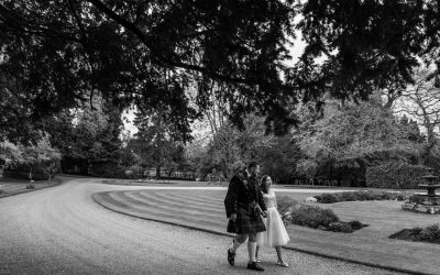 Clearwell Castle Wedding Photographer – Catherine & Tristum