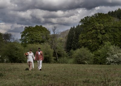 Elopement Photography in Wales – Anna & Irvin