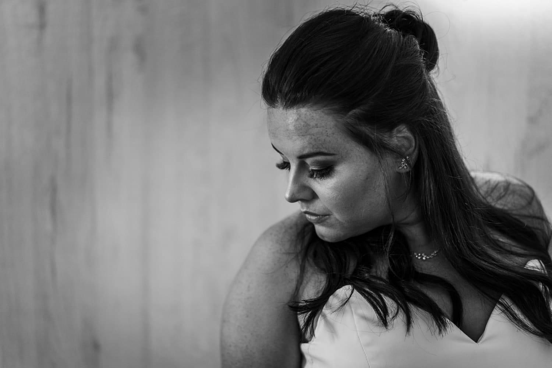 Santorini Wedding Photography, bride portrait