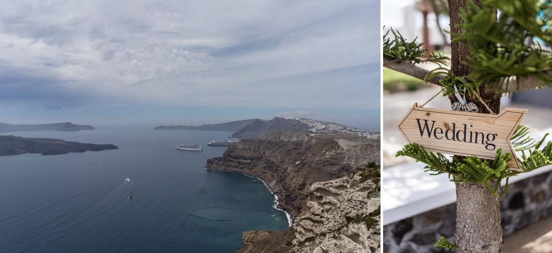 Santorini Wedding Photography, Gem Villa