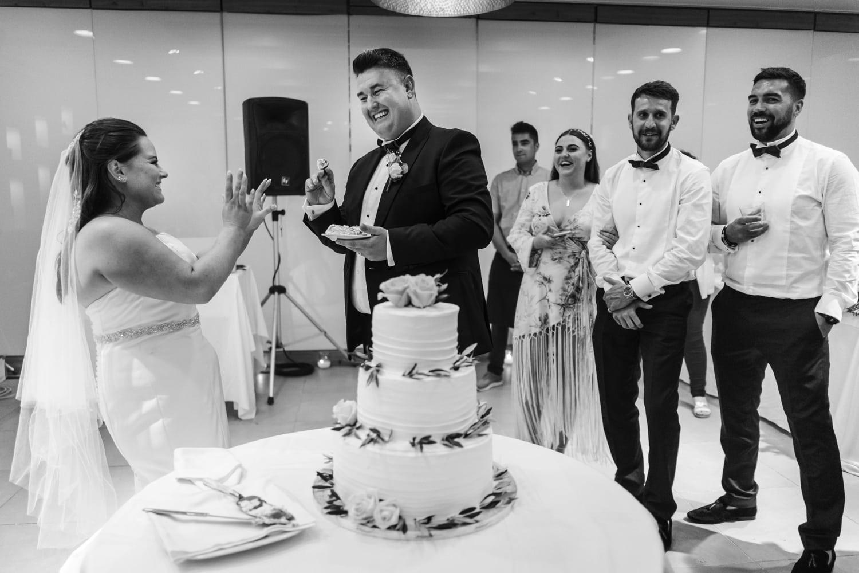Santorini Wedding Photography at Pyrgos restuarant