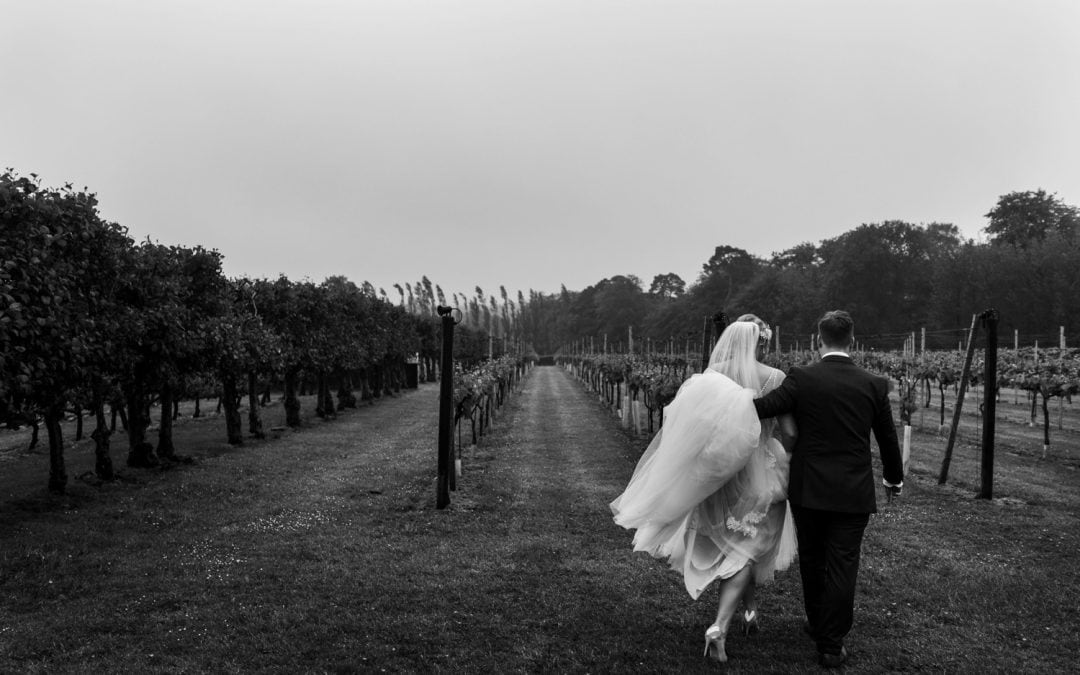 South Wales Wedding Photography at Llanerch Vineyard – Sarah & Max