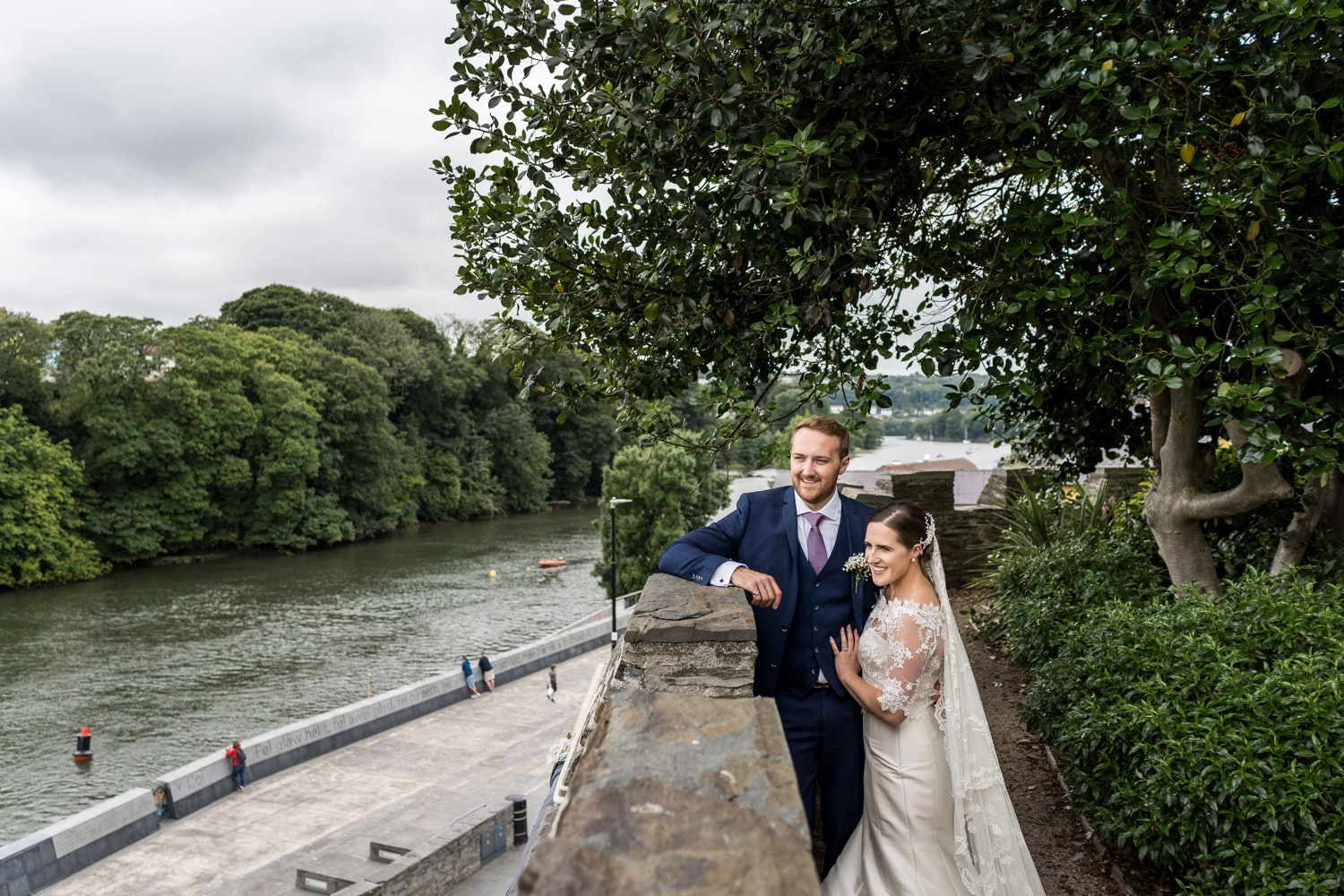 West Wales wedding at Cardigan Castle