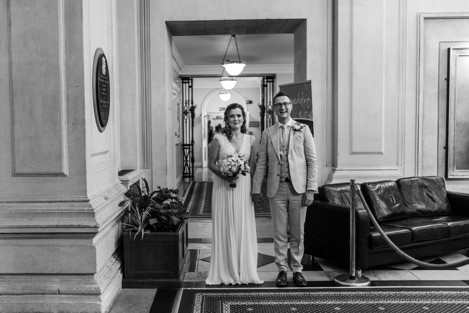 Mid week wedding at Cardiff City Hall