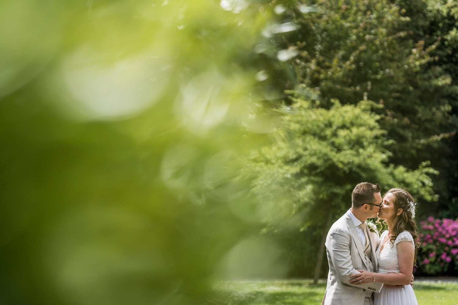 Wedding photography at Alexandra Gardens in Cardiff