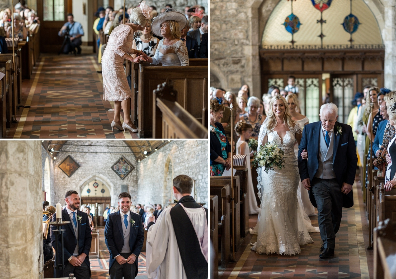 South Wales church wedding