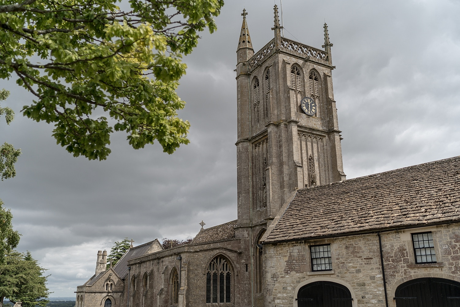 St Johns the Baptist Church in Colerne