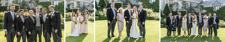 Wedding reception at Euridge Orangery