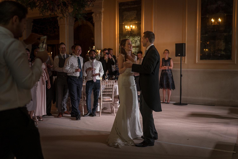 First dance at Euridge Orangery