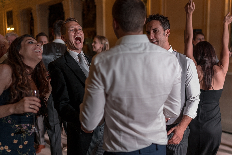 wedding dancing at Euridge Orangery