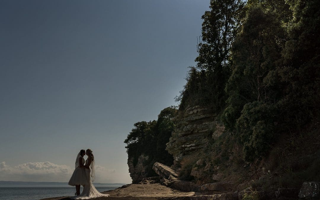 South Wales Same Sex Wedding at St Donat's Castle – Kim & Kirsty