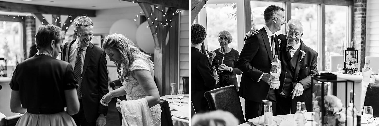 Wedding reception at Tynrhyd Retreat