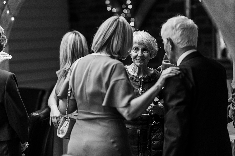 Wedding speeches at Tynrhyd Retreat