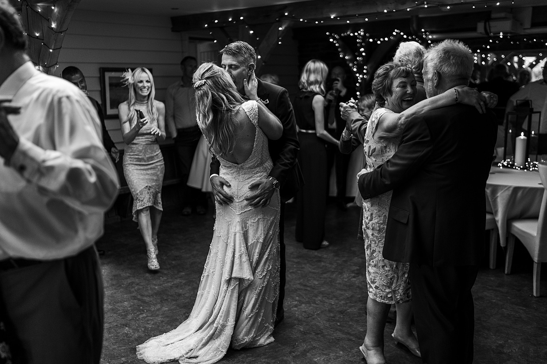 First dance at Tynrhyd Retreat