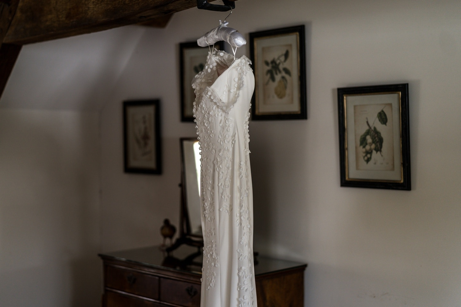 Dress for a Cotswold wedding