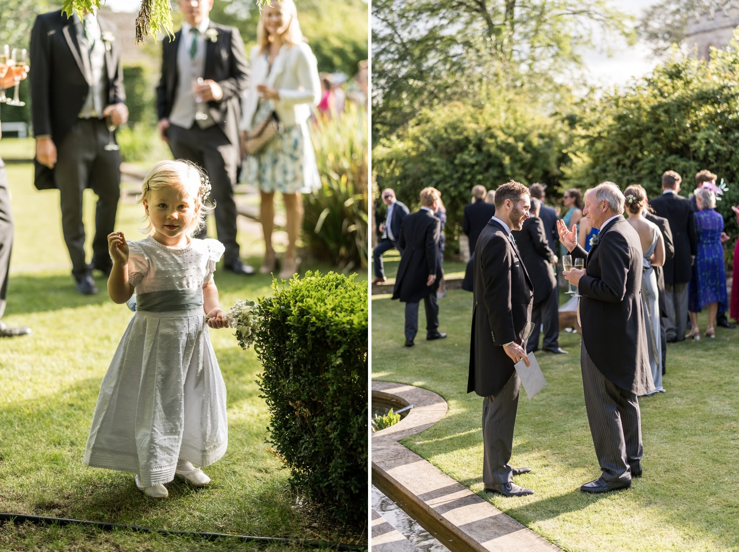 Cotswold wedding reception